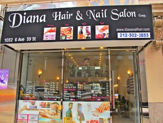 Diana Nail & Hair - Hair Salons - Midtown West - New York ...