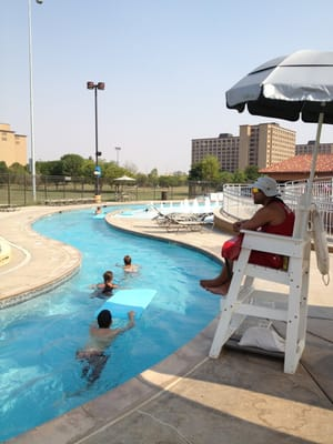 Texas tech lazy river leisure pool leisure centers - Public swimming pools in lubbock tx ...