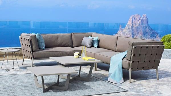 neue loungem bel einfach style und kissen wetterfest nat rlich in unserem showroom cane line. Black Bedroom Furniture Sets. Home Design Ideas