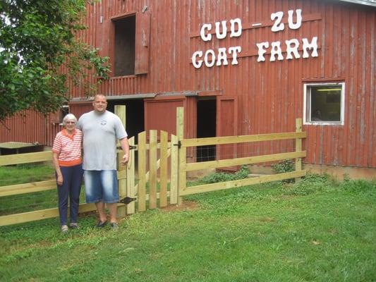 Cud Zu Goat Farm Fence Yelp