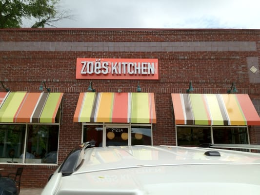 Zoes Kitchen Menu Mount Pleasant Sc