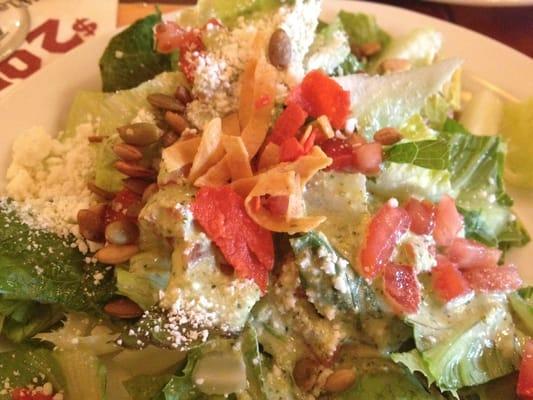 Mexican Chain Restaurant Recipes El Torito Mexican Caesar Salad