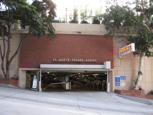 St Mary S Square Garage 11 Photos Parking Chinatown San
