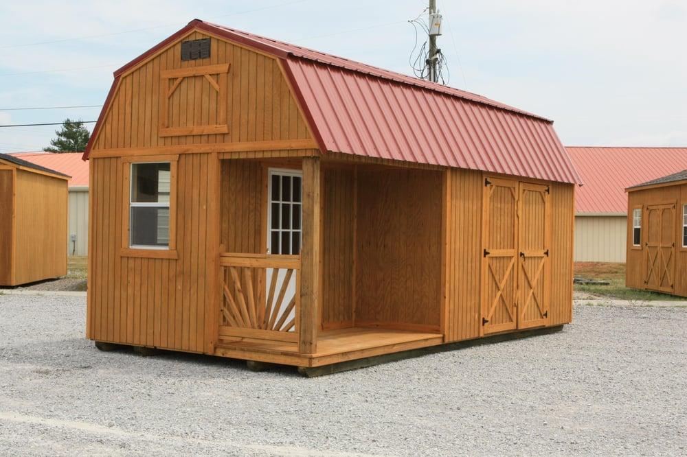 10x20 Side Lofted Barn Cabin | Yelp