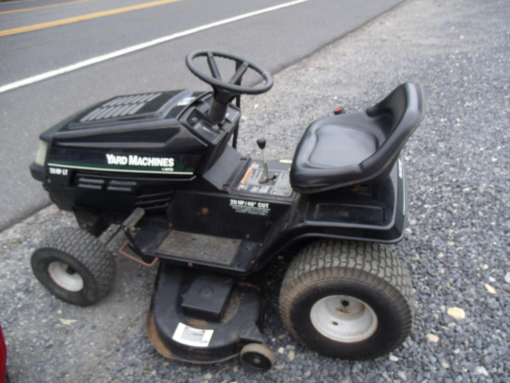 Yard Machine Riding Mower For Sale 48 Inch Mower Deck Yelp