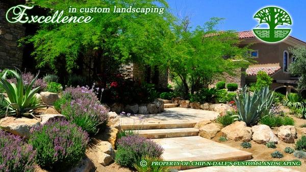 Chip N Dale S Custom Landscaping Masonry Concrete Las