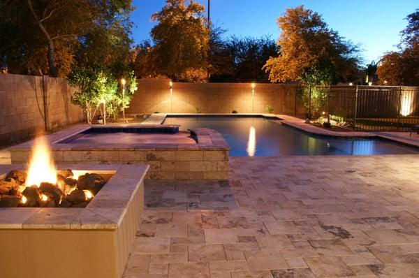 Arizona Traditional Designed Swimming Pool And Spa