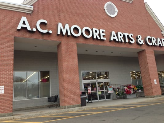 A.C. Moore is an American arts and crafts retail chain with locations in the eastern United States, with its corporate headquarters located in Berlin, New Jersey. A.C. Moore sells a variety of arts and crafts products, including scrapbooking, beading, knitting, rubber stamping, home decor items, floral items, children's crafts, paints.