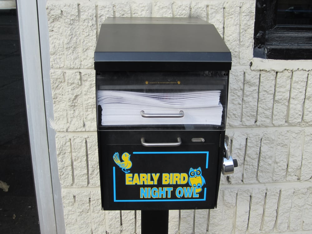Early Bird And Late Night Key Drop Box For Your